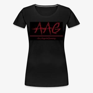 ArcAngelsGaming t-shirt black - Women's Premium T-Shirt