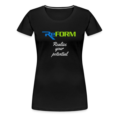 Realize your potential - Women's Premium T-Shirt