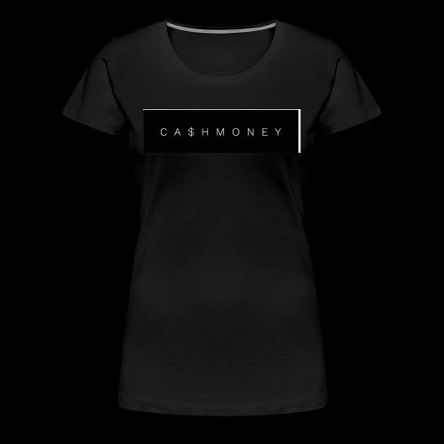 Ca$hMoney box logo v2 - Women's Premium T-Shirt