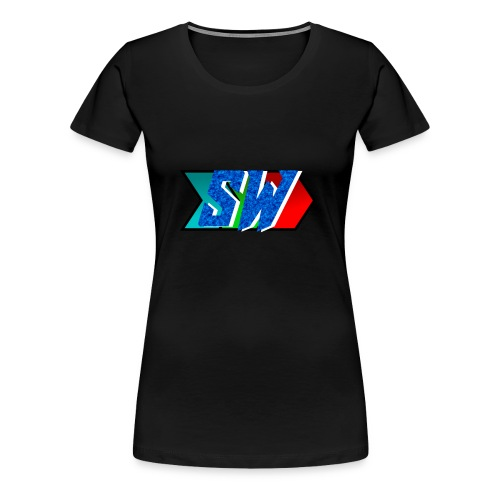 Salty World Logo - Women's Premium T-Shirt