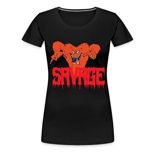 savage T shirt - Women's Premium T-Shirt