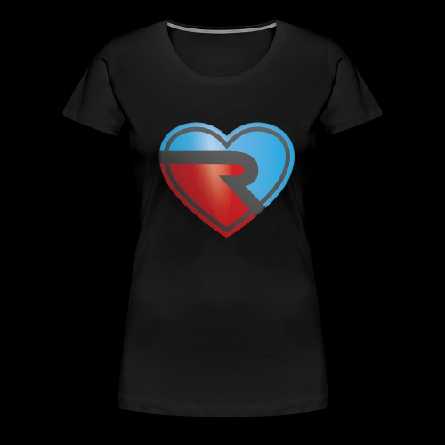 River PB Heart - Women's Premium T-Shirt