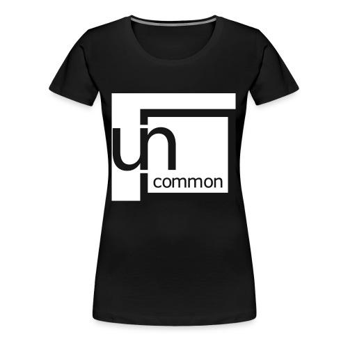 Uncommon logo BW - Women's Premium T-Shirt