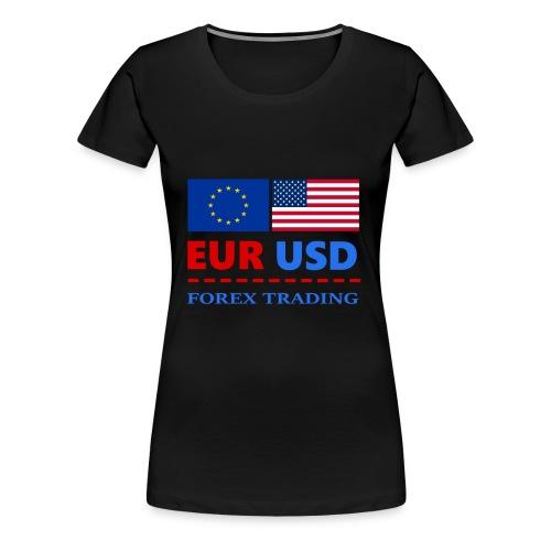 FOREXTRADING - Women's Premium T-Shirt