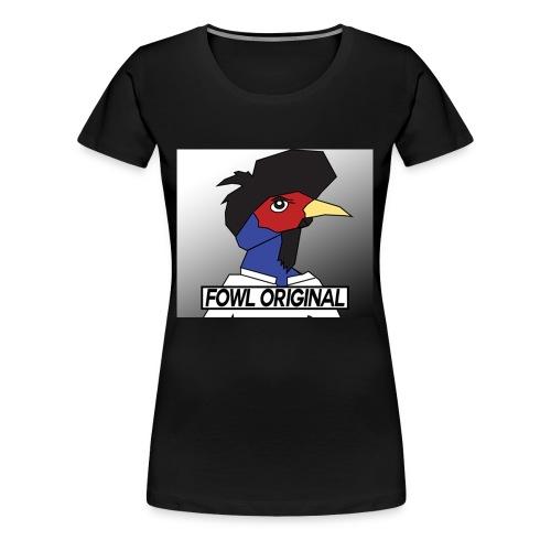 Fowl Original Logo - Women's Premium T-Shirt
