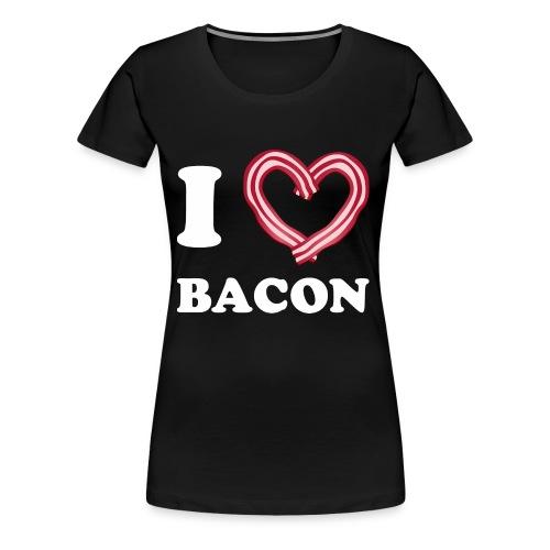 I L Bacon - Women's Premium T-Shirt