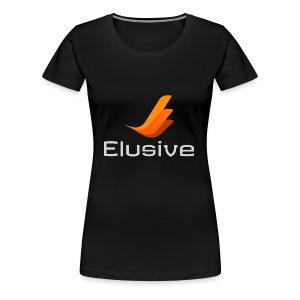 Elusive White - Women's Premium T-Shirt