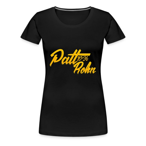 Patt Rohn 2036 Golden - Women's Premium T-Shirt