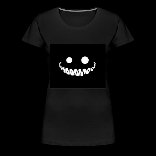 Creepy Smile - Women's Premium T-Shirt