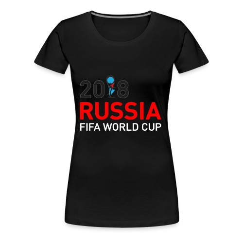 world cup 2018 - Women's Premium T-Shirt