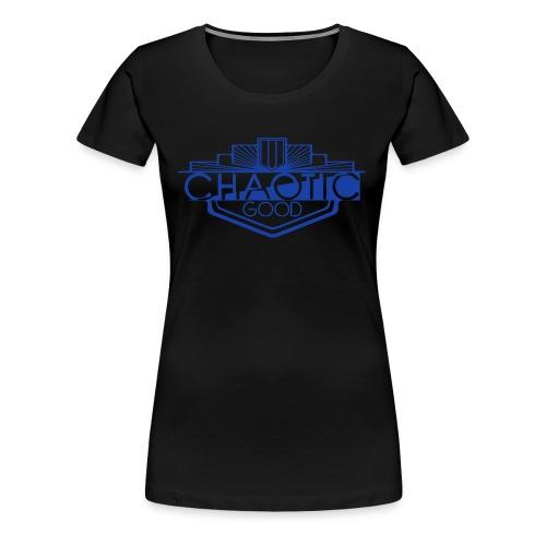 Chaotic Good Alignment Tshirt - Women's Premium T-Shirt