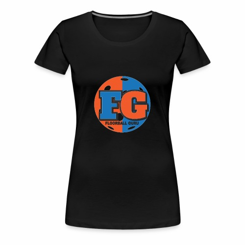 Floorball Guru Logo - Women's Premium T-Shirt