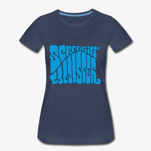 Screamin' Whisper Retro Logo - Women's Premium T-Shirt