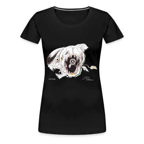 Video Fish - Women's Premium T-Shirt