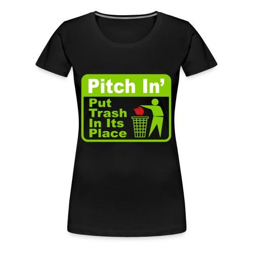 Trash MAGA - Women's Premium T-Shirt