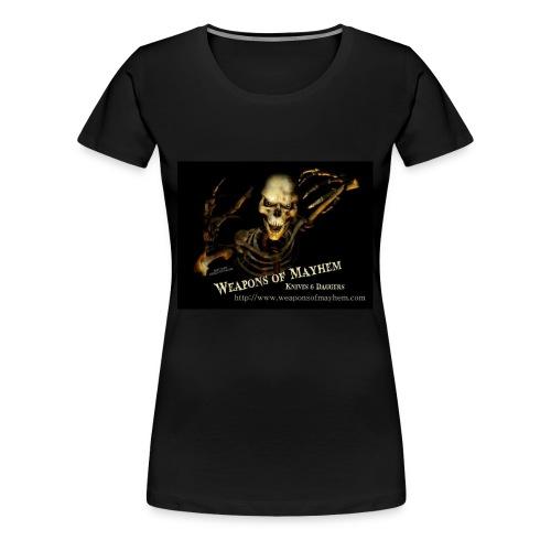 Mayhem Skeleton - Women's Premium T-Shirt