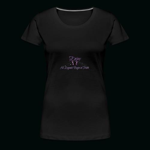 Enjay's Logo - Women's Premium T-Shirt