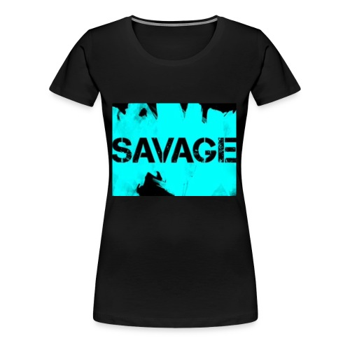 Pros savage merch - Women's Premium T-Shirt