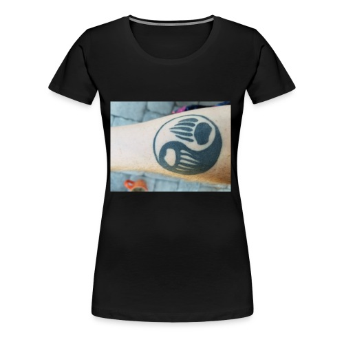 Bare arm - Women's Premium T-Shirt