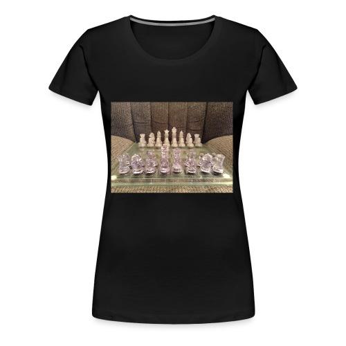 Chess bord - Women's Premium T-Shirt