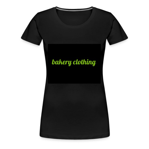 bakery clothing - Women's Premium T-Shirt