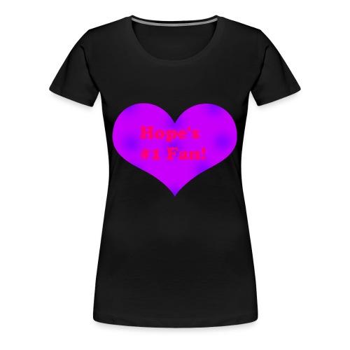 Hope's Merch - Women's Premium T-Shirt