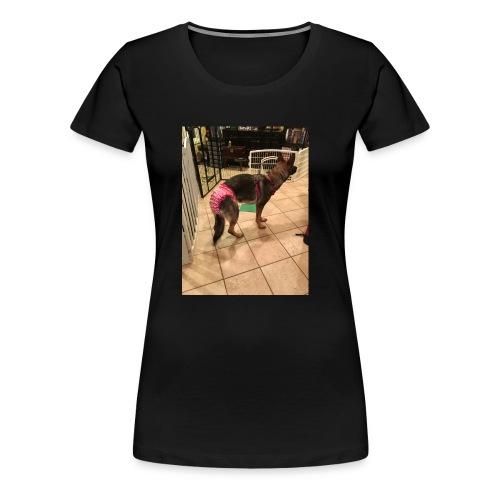 violet in underwear - Women's Premium T-Shirt