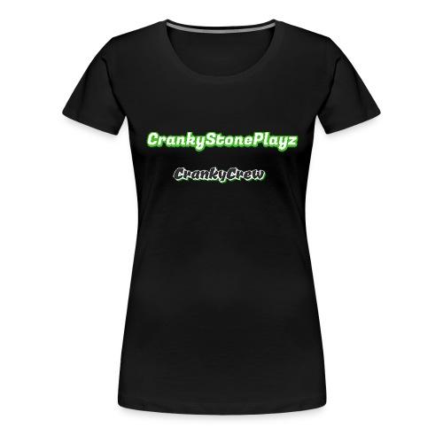 crankystoneplayz - Women's Premium T-Shirt