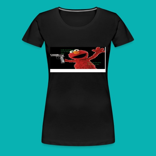 Yung Elmo - Women's Premium T-Shirt