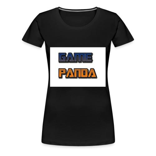 Game Panda Casuals New design at cheap Price - Women's Premium T-Shirt