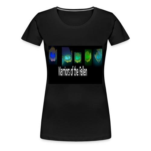 Warriors of the Fallen Logo - Women's Premium T-Shirt
