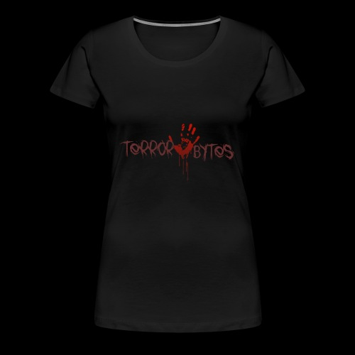 Terror-Bytes Blood Hand - Women's Premium T-Shirt
