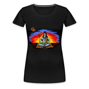 Lord Shiva - Women's Premium T-Shirt