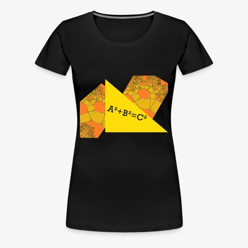 Pythagoras theorem - Women's Premium T-Shirt