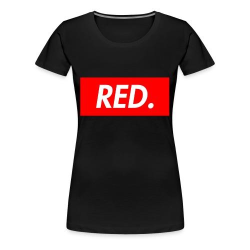 Red. - Women's Premium T-Shirt