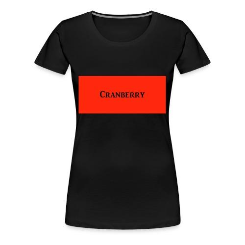 Cranberry - Women's Premium T-Shirt