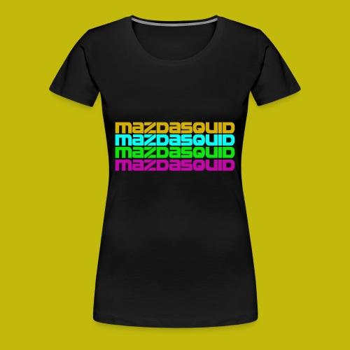 MazdaSquid Phone - Women's Premium T-Shirt