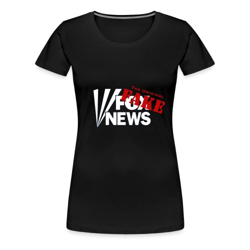 Fox Fake News, the original fake - Women's Premium T-Shirt