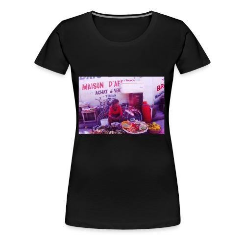Haitian market - Women's Premium T-Shirt