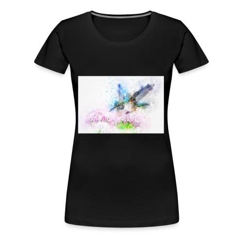 blue bird - Women's Premium T-Shirt