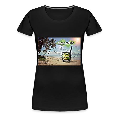 Drink Beach - Women's Premium T-Shirt