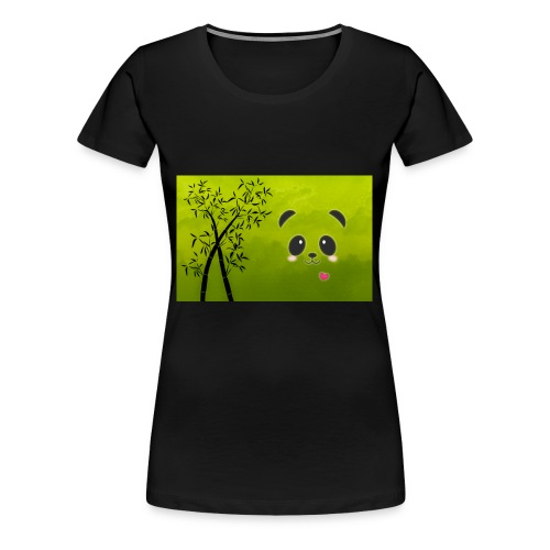panda cuteness - Women's Premium T-Shirt