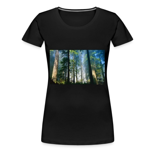Redwood Forest LGLT - Women's Premium T-Shirt