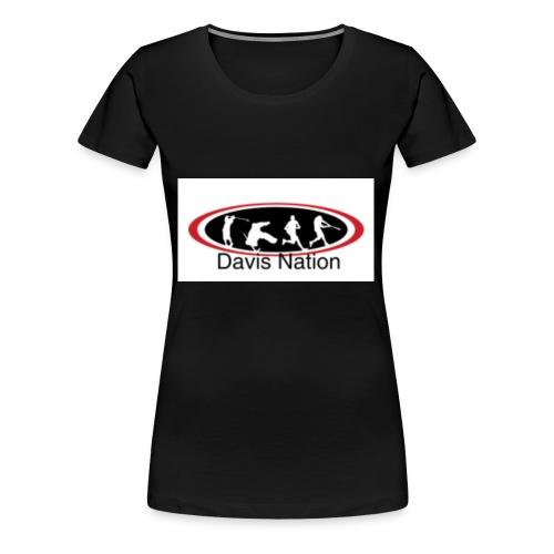 Davis Nation - Women's Premium T-Shirt
