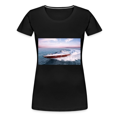 fast boat T-Shirt - Women's Premium T-Shirt
