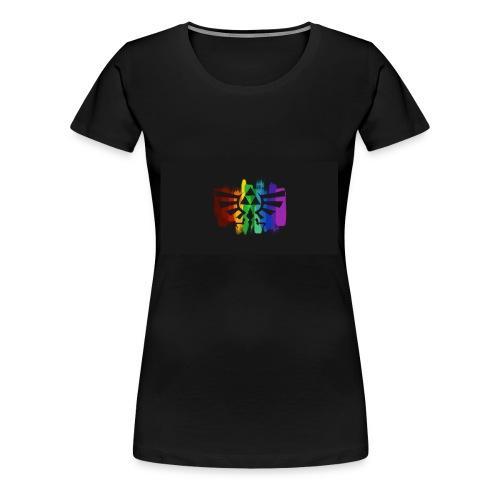 Rainbow Legend of Zelda - Women's Premium T-Shirt