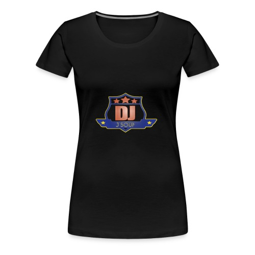 DJ_J_Soup_Blue - Women's Premium T-Shirt
