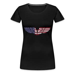 sign wings american - Women's Premium T-Shirt