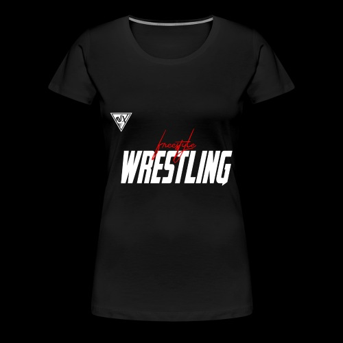 freestyle wrestling - Women's Premium T-Shirt