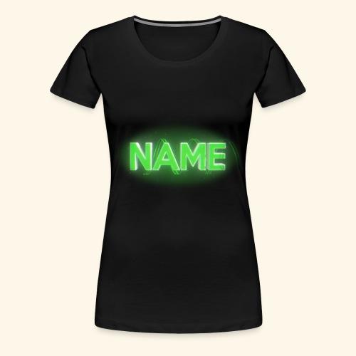 Name - Women's Premium T-Shirt